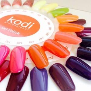 Палитра гель лаков Коди (Kodi)