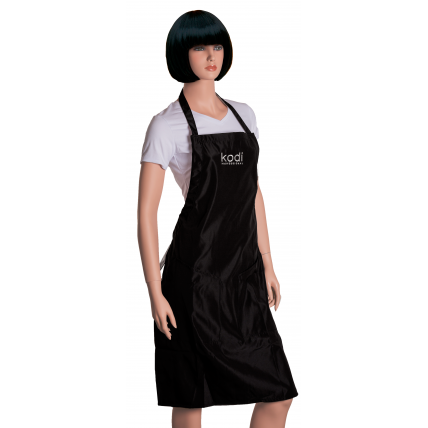 Фартук Kodi professional черный с серебряным логотипом (длинный) 20052348