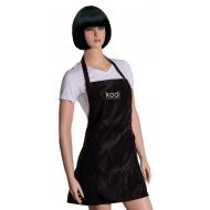 Фартук Kodi professional черный с серебряным логотипом (короткий) 20052355