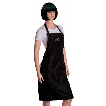 Фартук Kodi professional черный с фиолетовым логотипом (длинный) 20052379