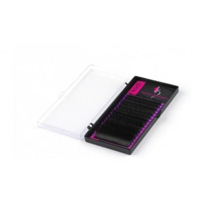 Ресницы  С 0.20 (16 рядов: 12 мм), упаковка Purple 20034474