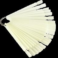 Демонстрационная палитра-веер на кольце, 50 типс (цвет натуральный) 20042929