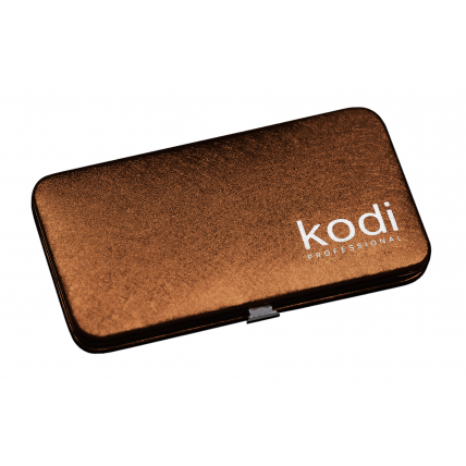 Футляр для пинцетов магнитный Kodi professional, цвет: бронза 20052294