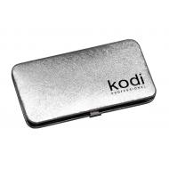 Футляр для пинцетов Kodi professional, цвет: серебро 20052300