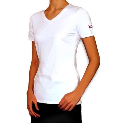 Фирменная футболка Kodi (цвет логотипа:фиолетовый). Размер: L 20005177