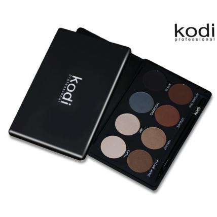 Eyebrow Kit Kodi professional Make-up (набор теней для коррекции бровей) 20035655
