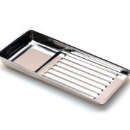 Лоток металлический 195 х 90мм для стерилизации и хранения инструментов 20043674