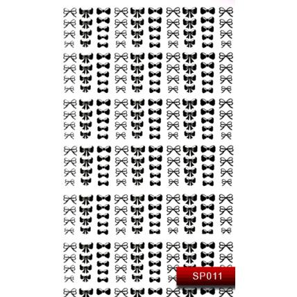 Nail Art Stickers SP 011 (черный) 20015589