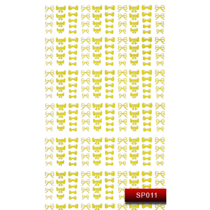 Nail Art Stickers SP 011 (золото) 20015596
