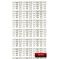 Nail Art Stickers SP 011 (серебро) 20015602