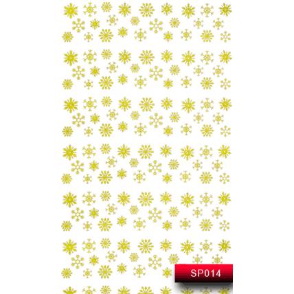 Nail Art Stickers SP 014 (золото) 20015671