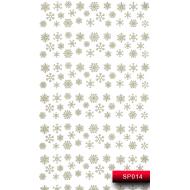 Nail Art Stickers SP 014 (серебро) 20015688