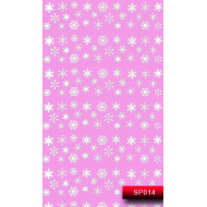 Nail Art Stickers SP 014 (белый) 20015695
