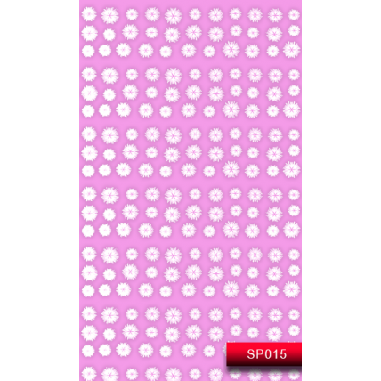 Nail Art Stickers SP 015 (белый) 20015732