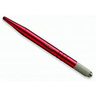 Ручка для мануального макияжа в футляре (цвет красный, вес 17 гр.) 20013868