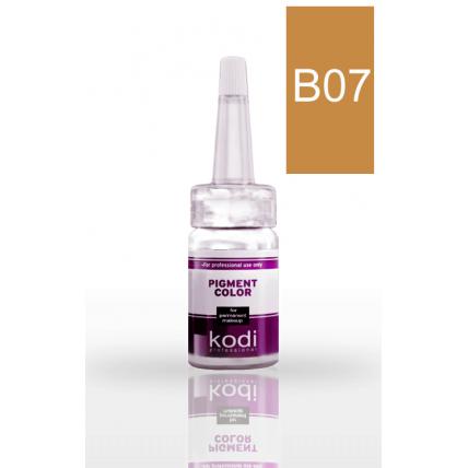 Пигмент для бровей B07 (Светло-коричневый) 10 мл 20002343
