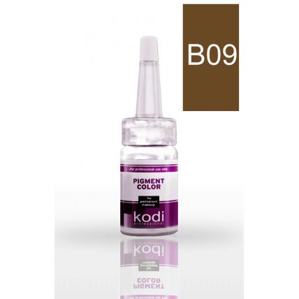 Пигмент для бровей B09 (Средне-коричневый) 10 мл 20002367
