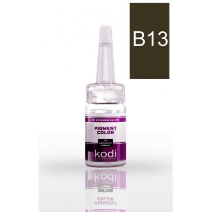 Пигмент для бровей B13 (Коричнево-серый) 10 мл 20002404