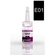 Пигмент для глаз E01 (Глубокий черный) 10 мл 20002428