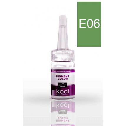 Пигмент для глаз E06 (Зеленый) 10 мл. 20034948